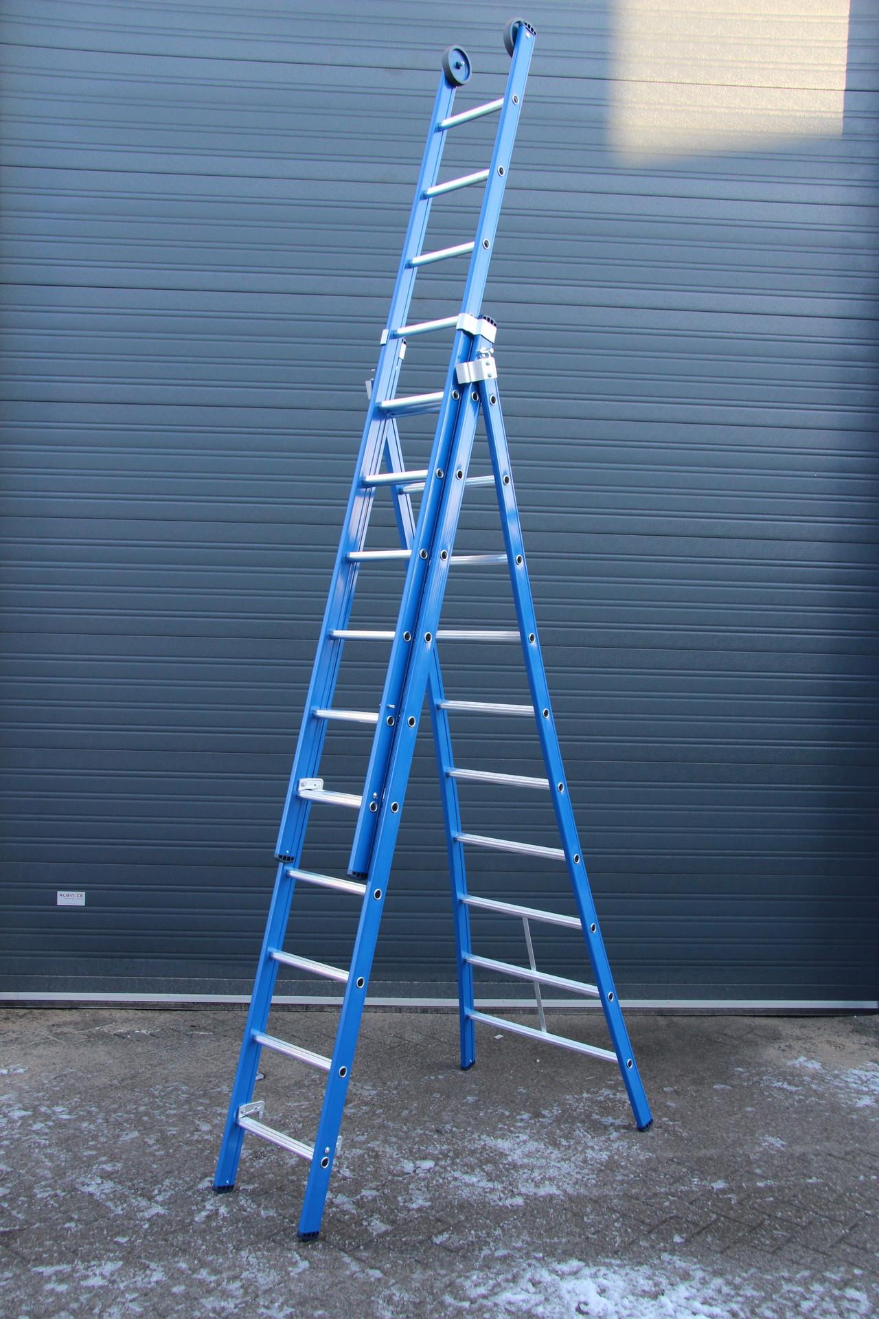 Werkhoogte ladder 3×10